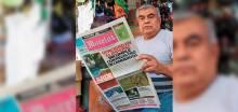 Cumple 38 años como voceador en Morelos