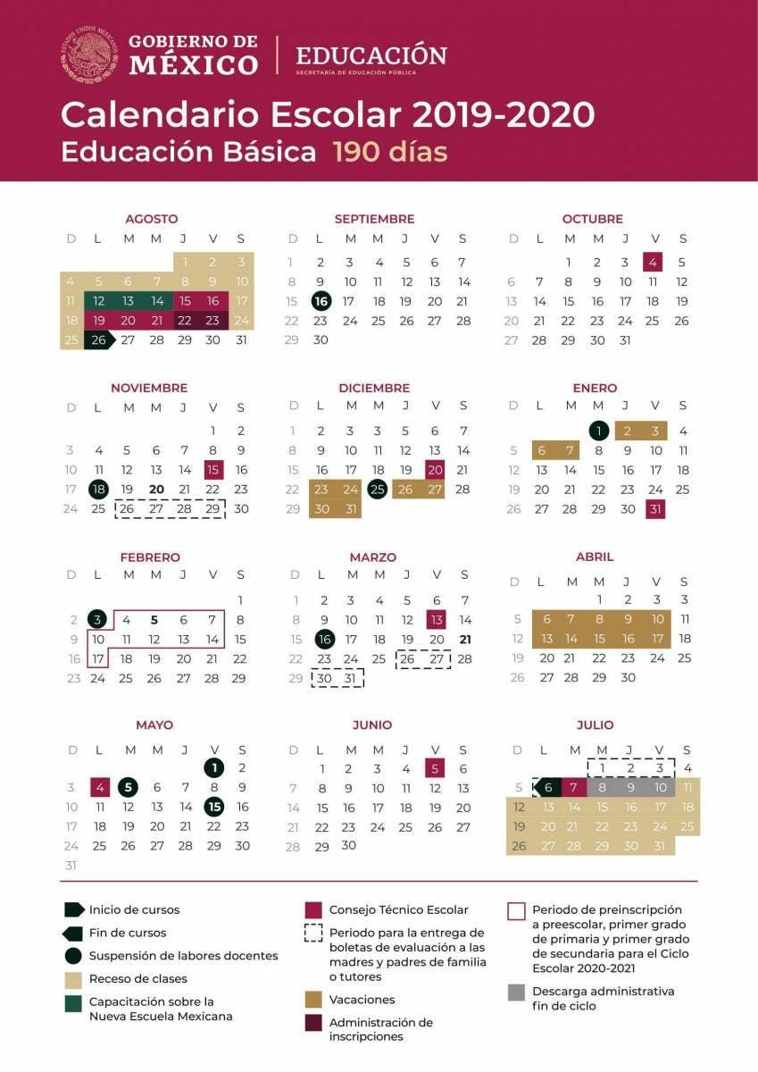 Calendario Escolar 2020 Las Palmas.Cuando Comienzan Las Vacaciones De Verano En Mexico Aqui Te