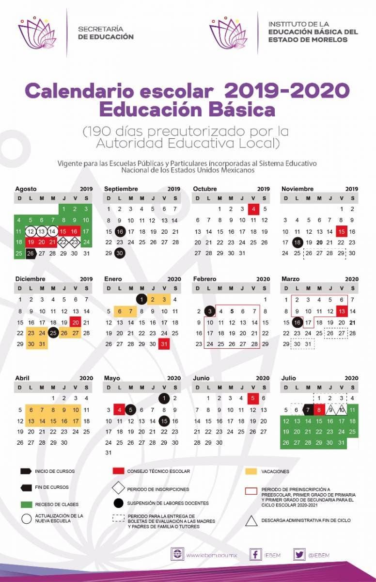 Calendario Escolar 2020 Las Palmas.Este Es El Calendario Escolar Para El Ciclo 2019 2020 En